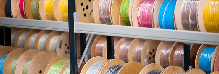 Silicone rubber covered tinned or nickel coated copper wire